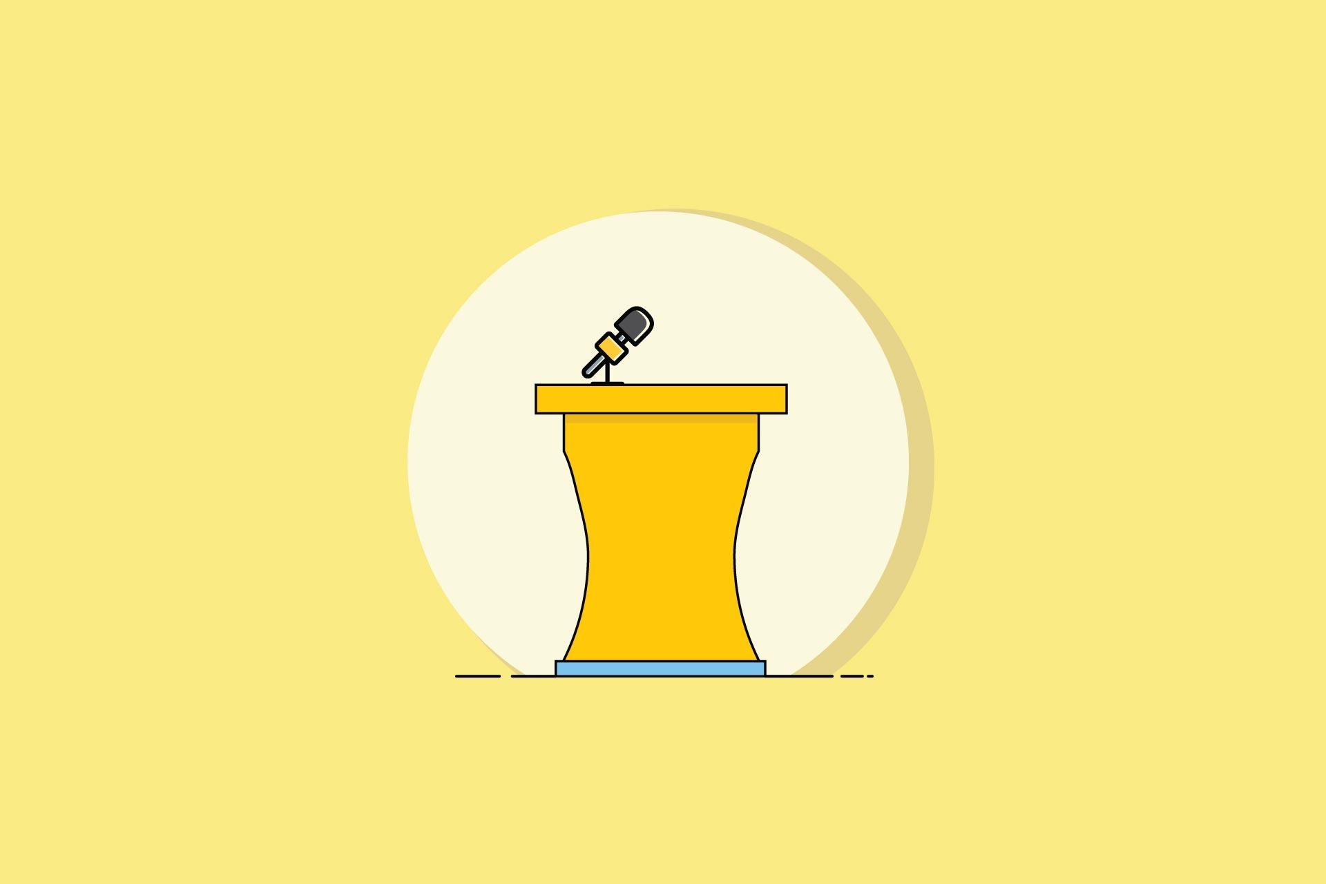 چگونه اشتباه در سخنرانی را مدیریت کنیم؟