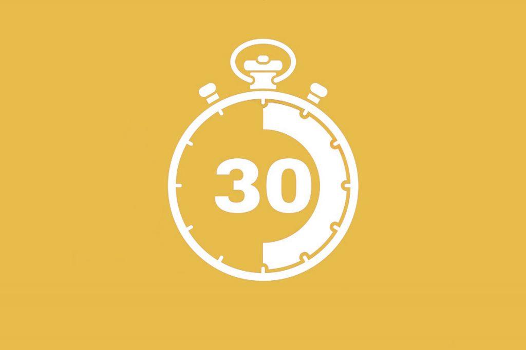 30 ثانیه طلایی