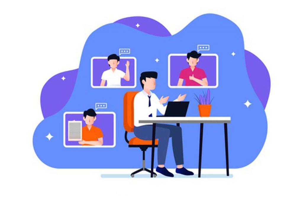 نرم افزار وب کنفرانس برای برگزاری جلسات کاری از راه دور، جلسات ارائه پاورپوینت آنلاین