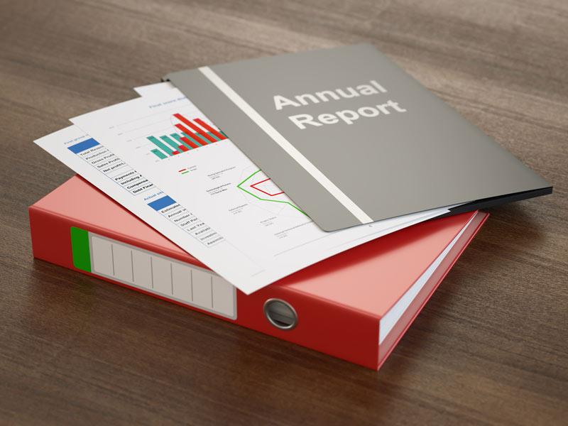 گزارش سالانه، طراحی گزارش عملکرد