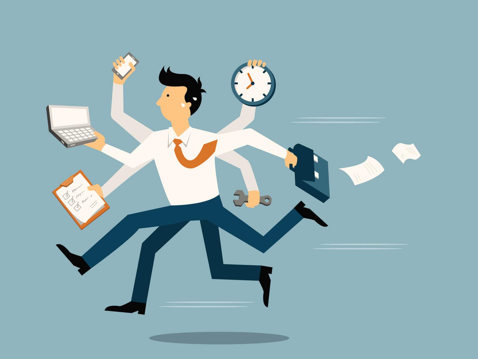 طراح ارائه-مدیریت وقت