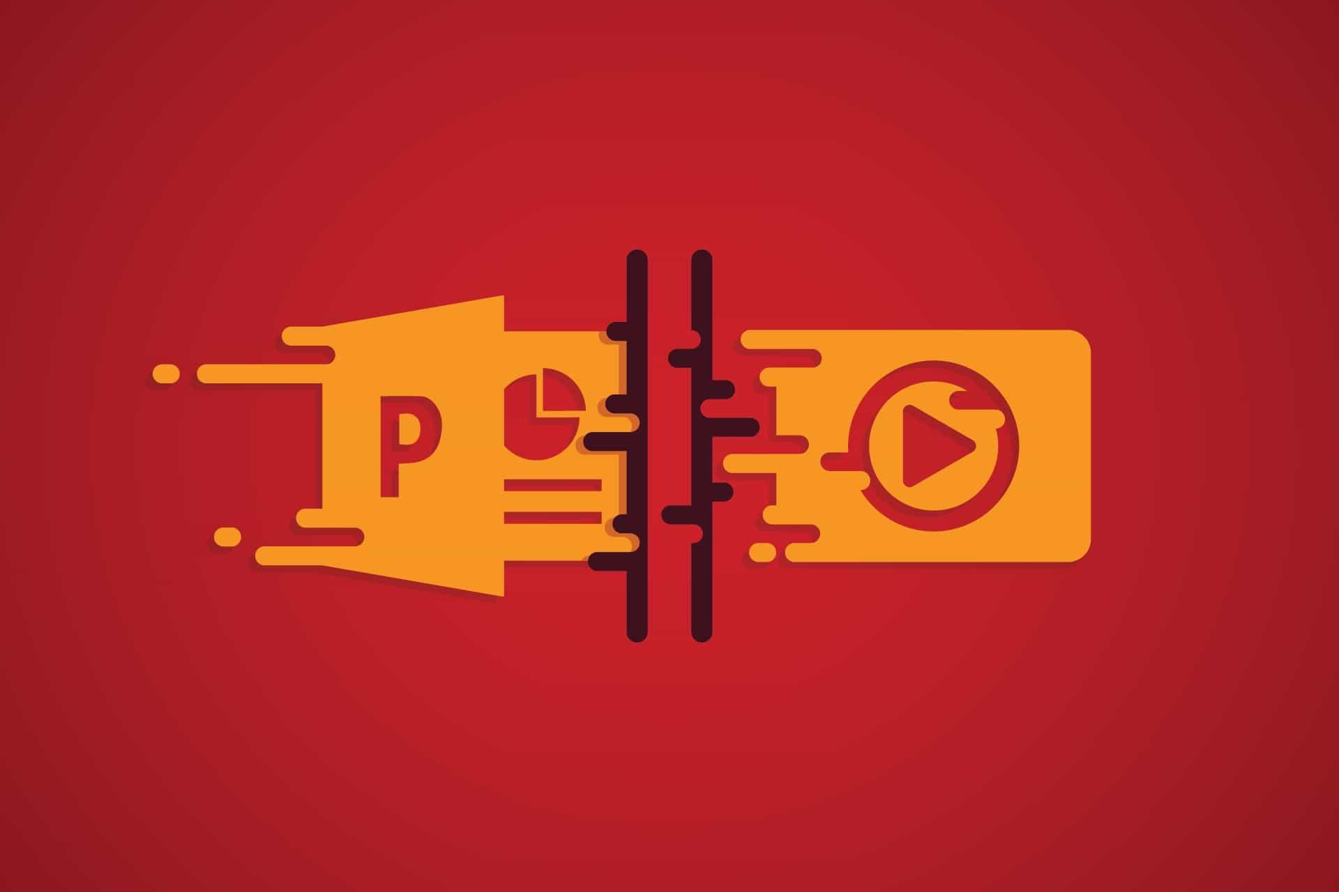 تبدیل پاورپوینت به ویدیو (۲۰۰۷ و ۲۰۱۰)