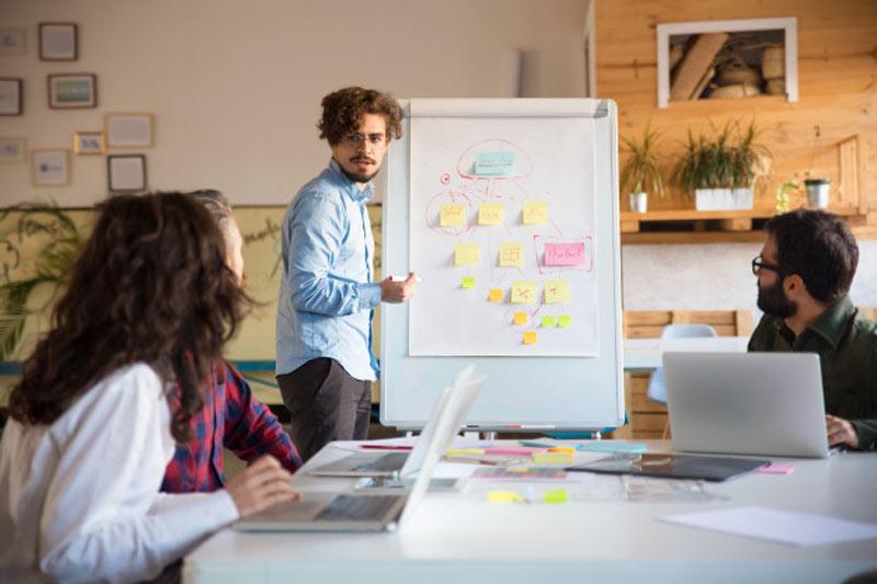 آماده شدن برای طراحی ارائه، تیم طراحی حرفهای، کار تیمی