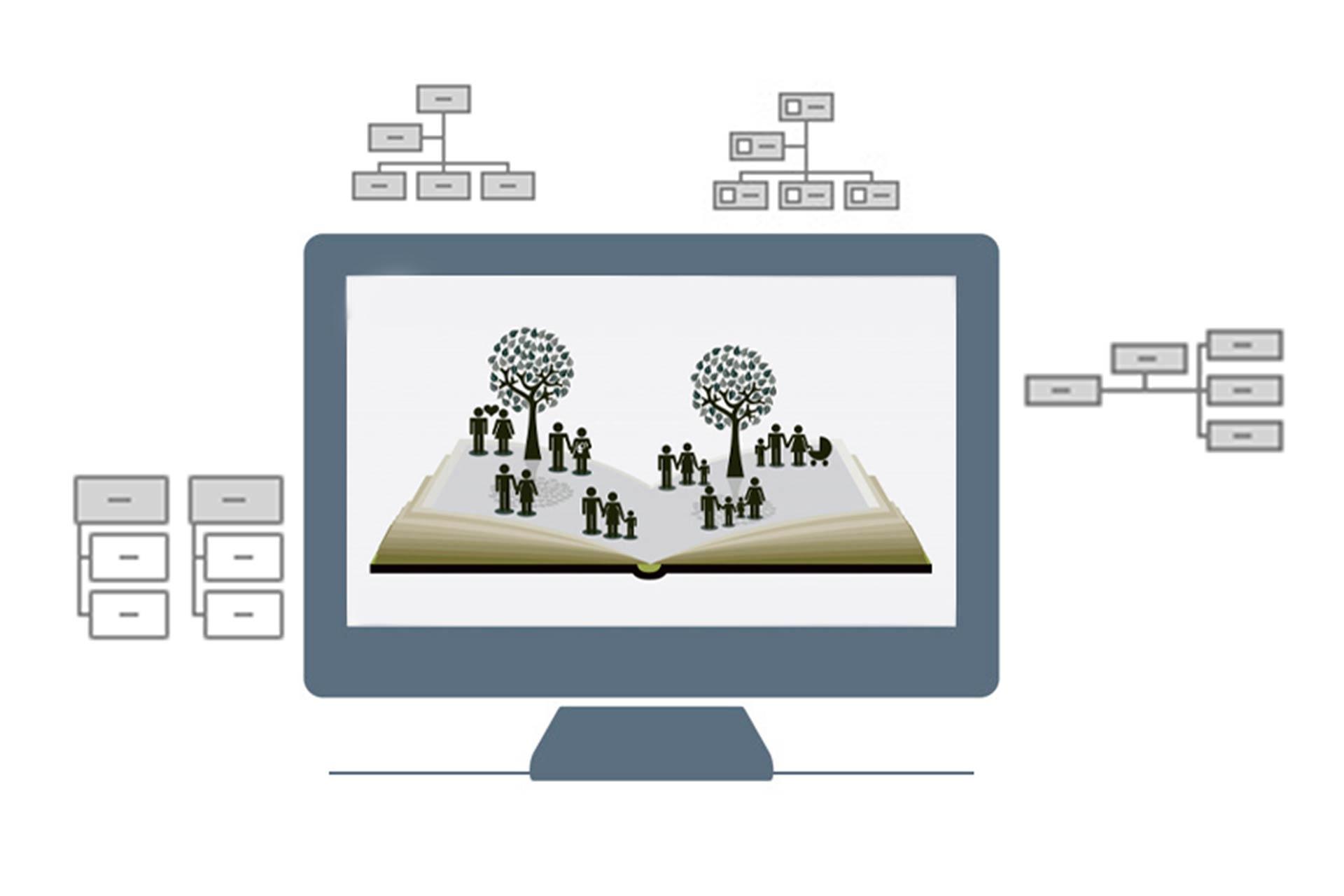 آموزش طراحی نمودار درختی با پاورپوینت