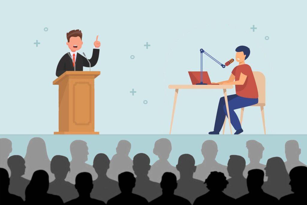 سخنرانی یا پرزنت کردن